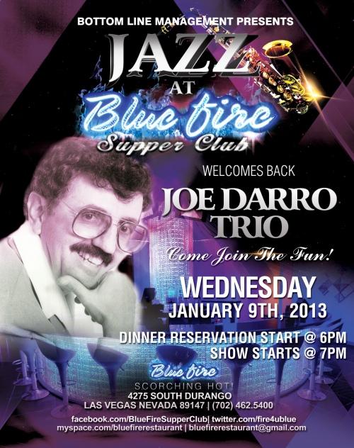 Joe Darro Trio